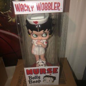 Funko nurse Betty boop wacky wobbler Bobblehead